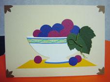 講習会「簡単!貼り絵で楽しむ秋のカード」