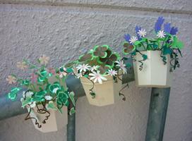 トレフルクラフト教室「寄植え鉢」